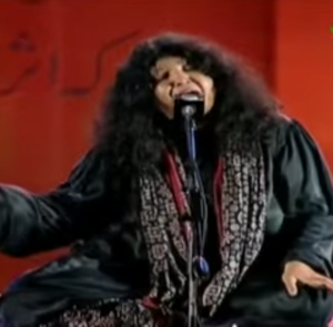 Sindhi music - Abida Parveen is a famous musician hailing from Sindh.
