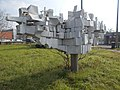 Abstract sculpture by Károly Szekeres, 2018 Istvánmező.jpg
