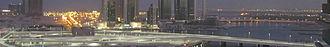 Beach Rotana - Image: Abu Dhabi banner
