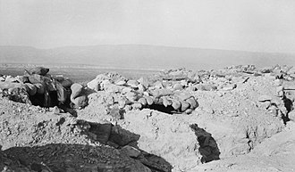 Battle of Abu Tellul - Turkish defences at Abu Tellul