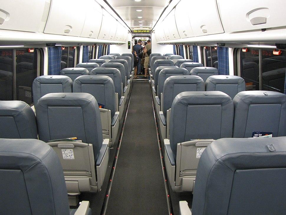 Acela Express business class coach