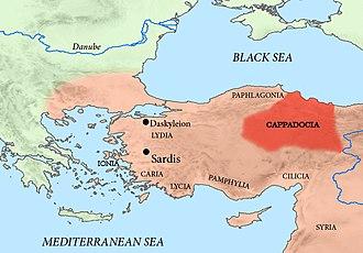 Datames - Datames was satrap of Achaemenid Cappadocia.