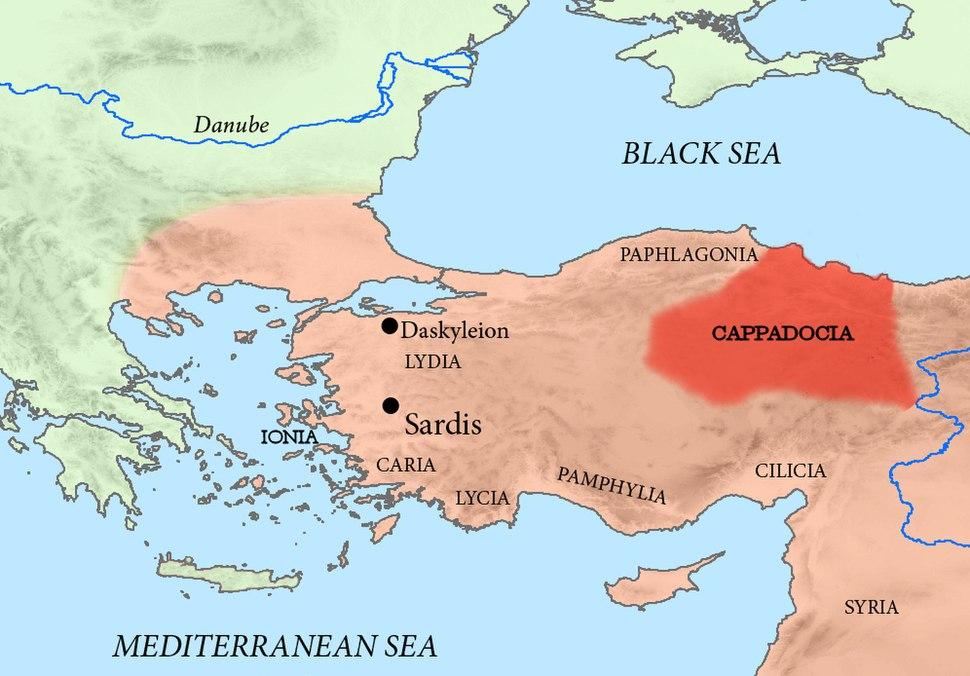 Achaemenid Cappadocia