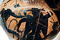 Acheloos Painter - ABV 383 2 - Herakles and the Kerkopes - struggle for the deer - Firenze MAN 3871 - 06.jpg