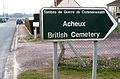 Acheux-en-Amiénois cimetière militaire (panneau) 1a.jpg