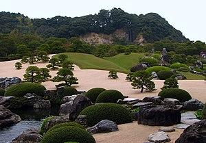Yasugi, Shimane - Garden of the Adachi Museum of Art near Yasugi