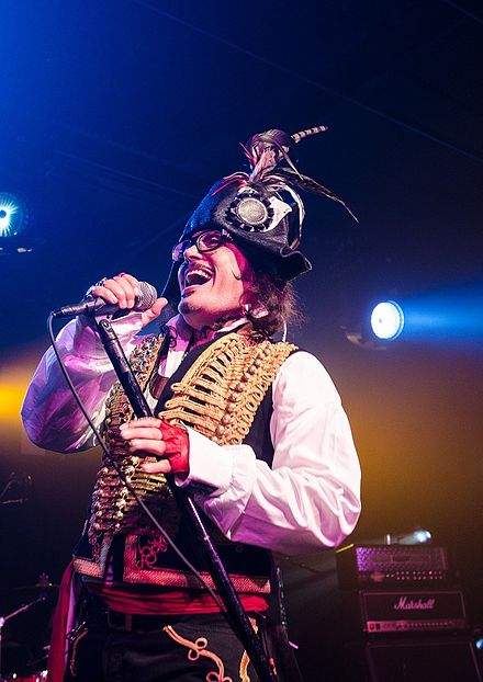 Adam Ant performing live at the Republik in Honolulu, Hawaii in a concert by the BAMP Project Adam Ant Concert.jpg
