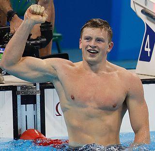 Adam Peaty British swimmer