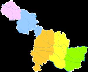 Suzhou, Anhui - Image: Administrative Division Suzhou (Anhui)