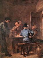Adriaen Brouwer - In the Tavern - Alte Pinakothek.jpg