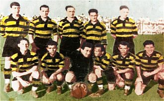 Greek Football Cup - AEK Athens' team which won the first Greek Cup in 1932.