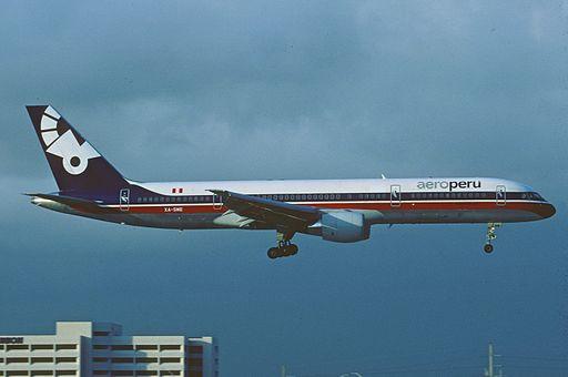 AeroPeru Boeing 757-23A; XA-SME, January 1995 (5067025926)