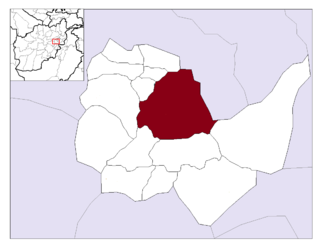 Deh Sabz District District in Kabul Province, Afghanistan