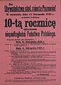 Afisz z okazji rocznicy Odzyskania Niepodleglosci w Poznaniu.jpg