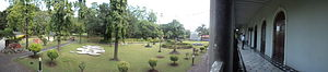 Aga Khan Palace - Panoramic view from the palace