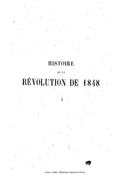 File:Agoult - Histoire de la révolution de 1848, tome 1.djvu