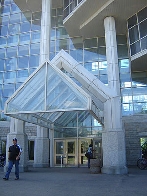 University of Saskatchewan College of Agriculture and Bioresources - Entrance Agriculture and Bioresources College Building, University of Saskatchewan