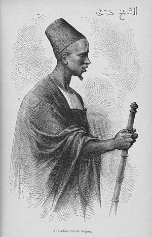Ahmadu Tall - Ahmadu Tall, as portrayed by the French (c. 1880).