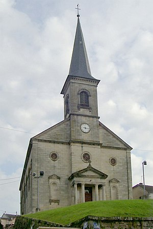 Aillevillers-et-Lyaumont - Church