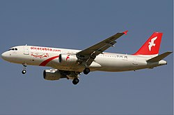 Airbus A320-200 der Air Arabia