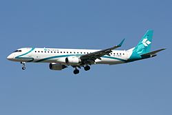 Embraer 195 der Air Dolomiti