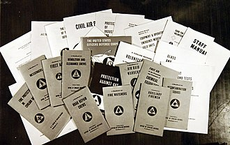 United States civil defense - Handbooks, guides, and bulletins showing the variety of opportunities for civilian defense volunteers during WWII