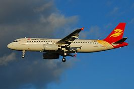 Airbus A320-200 van Beijing Capital Airlines