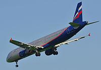 VP-BOE - A321 - Aeroflot