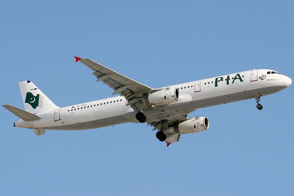Airbus A321-231, Pakistan International Airlines - PIA (Inter Airlines) AN1157696