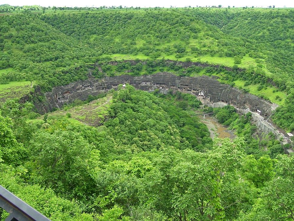 Ajanta viewpoint