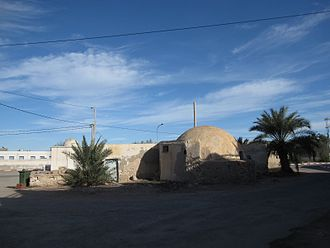 Mos Eisley - Filming location in Ajim, Tunisia for the Mos Eisley Cantina for Star Wars (1977)