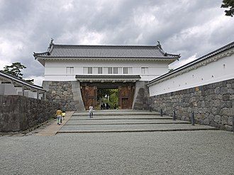 Odawara Castle - Image: Akagane Gate main entrance