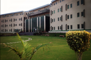 Akhtar Saeed Medical and Dental College - View of the college building