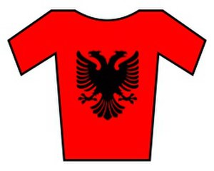 Amore & Vita–Selle SMP - Image: Albania jersey