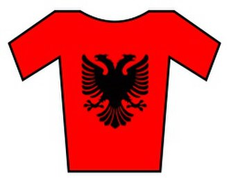 Amore & Vita–Selle SMP - Image: Albania jersey