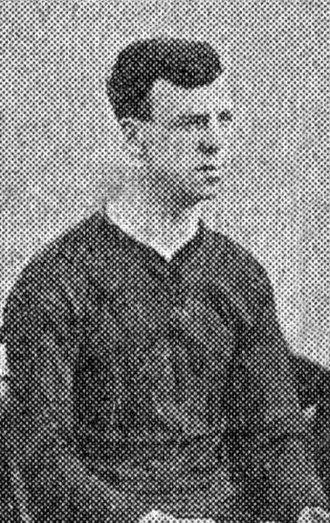 Albert Bartlett (footballer) - Bartlett while with Brentford 1909