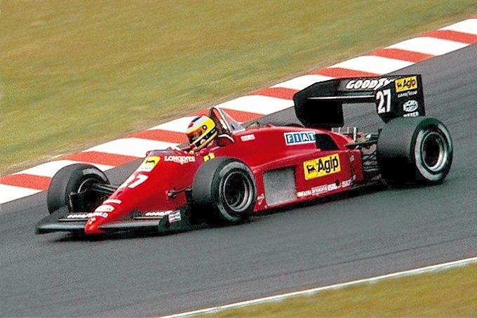 Alboreto 1985-08-02