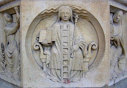 Alegoría de la alquimia en Notre-Dame