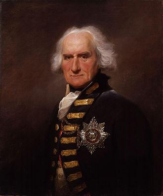 Viscount Bridport - Alexander Hood, 1st Viscount Bridport, in 1795
