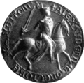 Alexander II, King of Scotland (seal 1).png