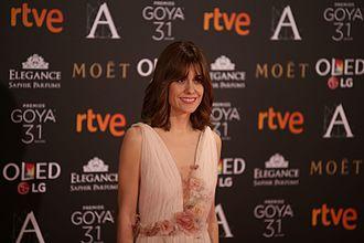 Alexandra Jiménez - Image: Alexandra Jiménez en los Premios Goya 2017