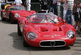 """Alfa Romeo Tipo 33 - Scuderia del Portello´s 33 """"periscope"""""""