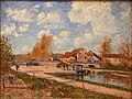Alfred Sisley - The Bourgogne Lock at Moret, Spring.JPG