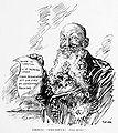 Alfred Von Tirpitz - political cartoon by Oscare Cesare.jpg
