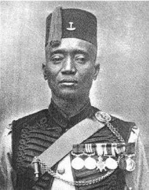 Ghana Regiment - Alhaji Grunshi fired the first British shot of WW1