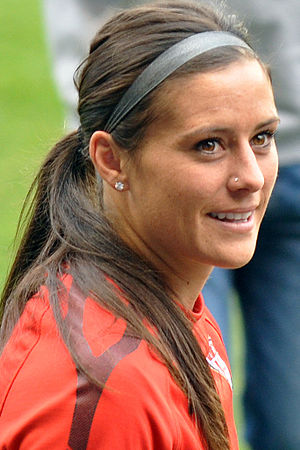 Ali Krieger - Krieger at a United States women's national team practice at Sporting KC Park in Kansas City in 2011