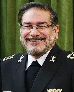 Ali Shamkhani Iranian admiral