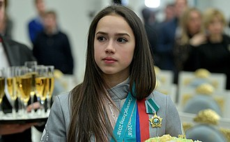 Olympic Athletes from Russia at the 2018 Winter Olympics - Alina Zagitova was awarded the Order of Friendship after the Games