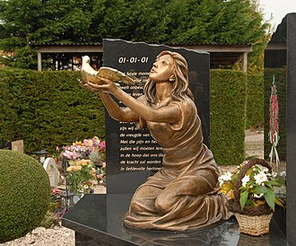 Volendam New Year's fire - Monument for the victims of the New Year's fire in Volendam