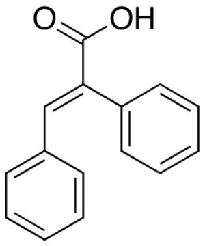 Alpha-Phenylcinnamic acid - Image: Alpha Phenylcinnamic acid